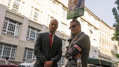 Wir haben K.I.Z., die Spitzenkandidaten der PARTEI, im Berliner Wahlkampf begleitet