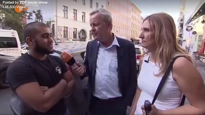 Video: Die 'heute-show' spaziert mit einer AfD-Kandidatin durch Kreuzberg