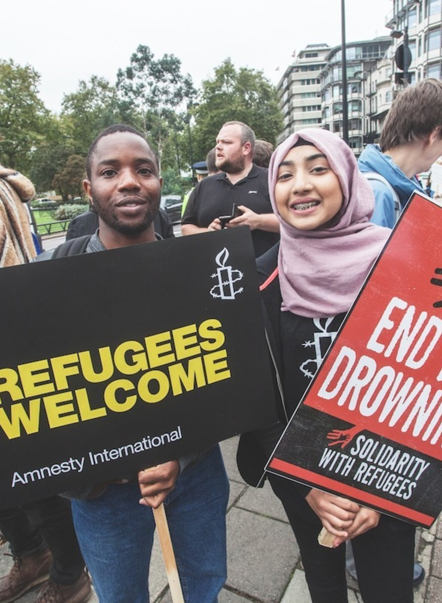 We Asked People at a Protest What We Can Actually Do to Make Refugees Feel Welcome