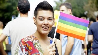 Foto's van de derde Pride Parade in Belgrado