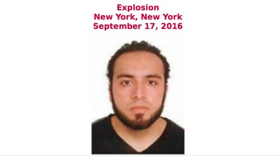 FBI on the Hunt for Ahmad Khan Rahami in Connection with New York Bombing