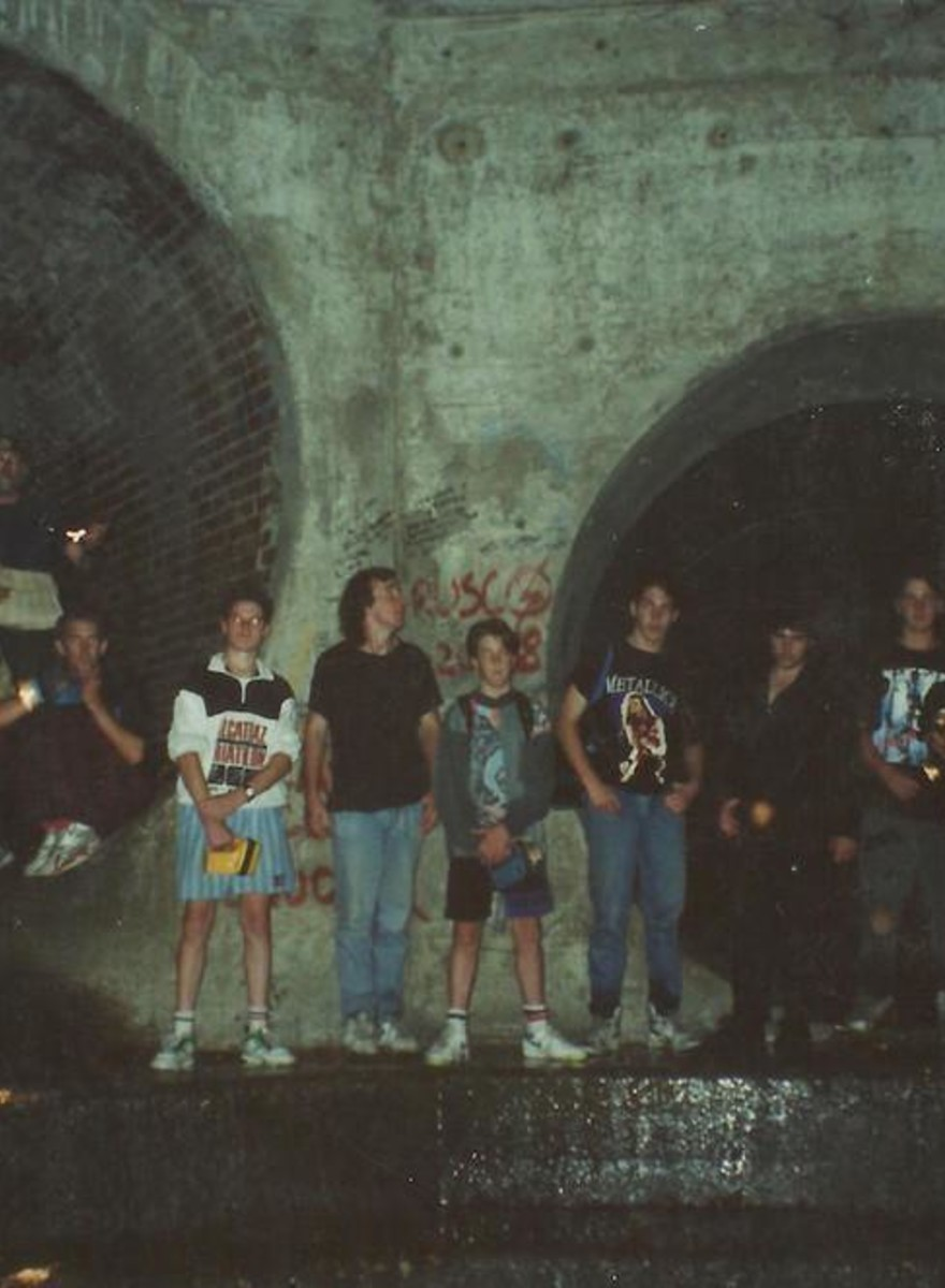 The Cave Clan Has Been Sneaking Into Drains for 30 Years