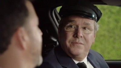 Jeb Bush Made a Surprise Appearance During the Emmys As an Uber Driver