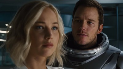 Jennifer Lawrence and Chris Pratt Are Sexy Space Friends in the Trailer for 'Passengers'