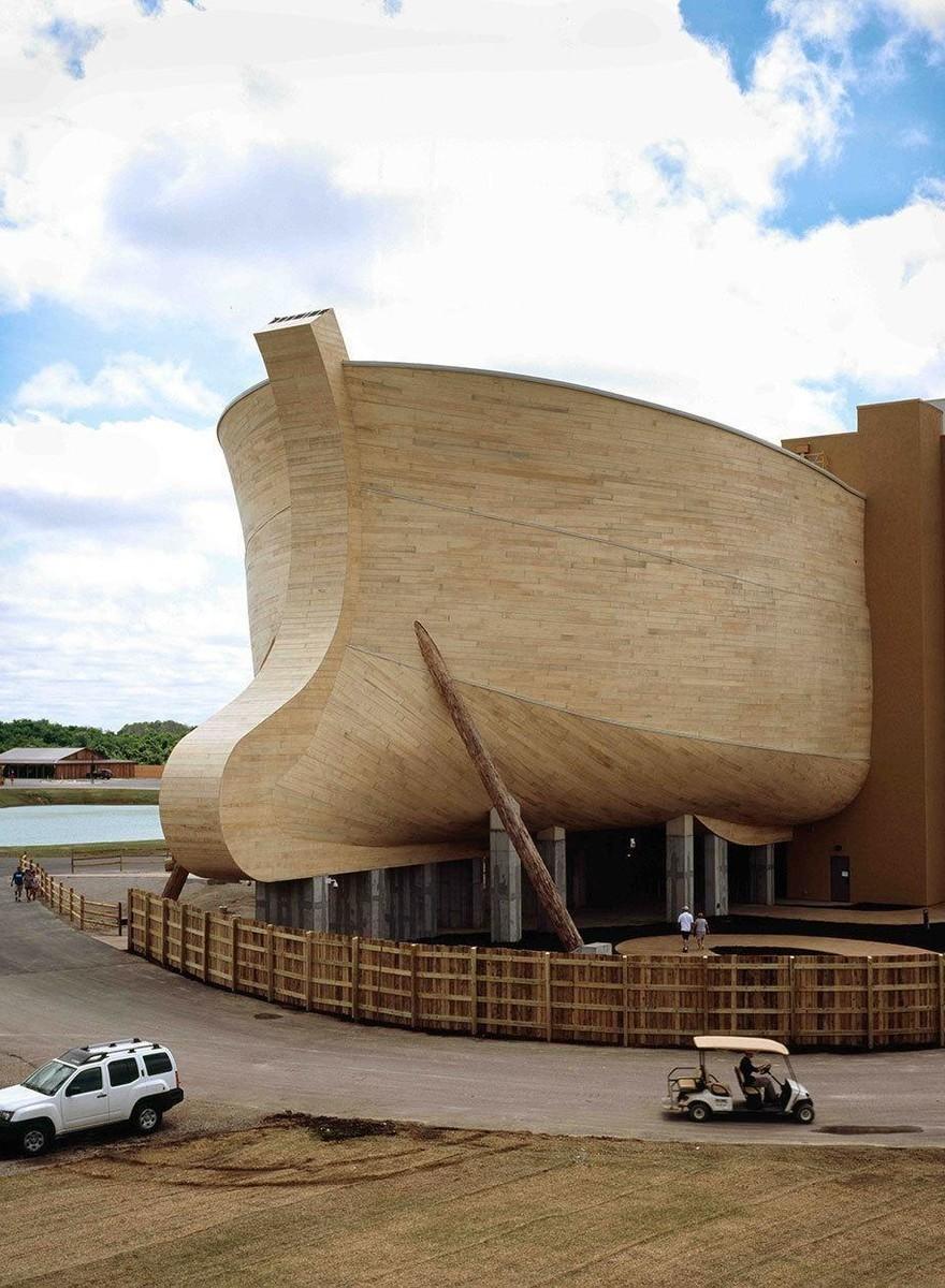 Dans l'Arche de Noé des créationnistes