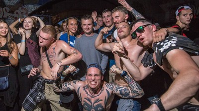 What It's Like to Party in a War Zone