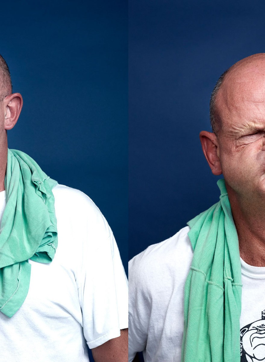 Probably the Most Beautiful Photos You'll Ever See of People Gurning