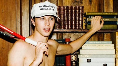 Make America Hairless Again: Sensuelle billeder af unge fyre til ære for Trump