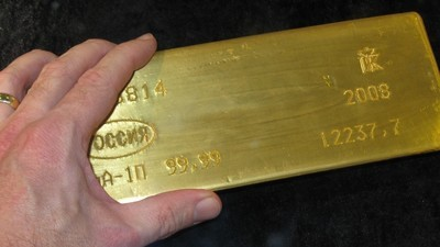 Canadian Mint Employee Accused of Stealing $135,000 in Gold via His Ass