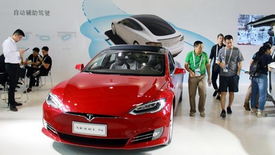 Chinese Hackers Remotely Attacked the Tesla Model S