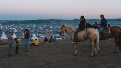 What Life Is Like Inside the Standing Rock Anti-Pipeline Camp
