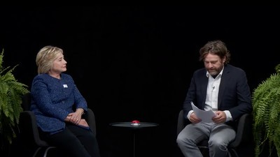 Hillary Clinton Went on 'Between Two Ferns' So Young People Will Like Her