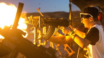 What I Saw at an All-Ages Machine Gun Party