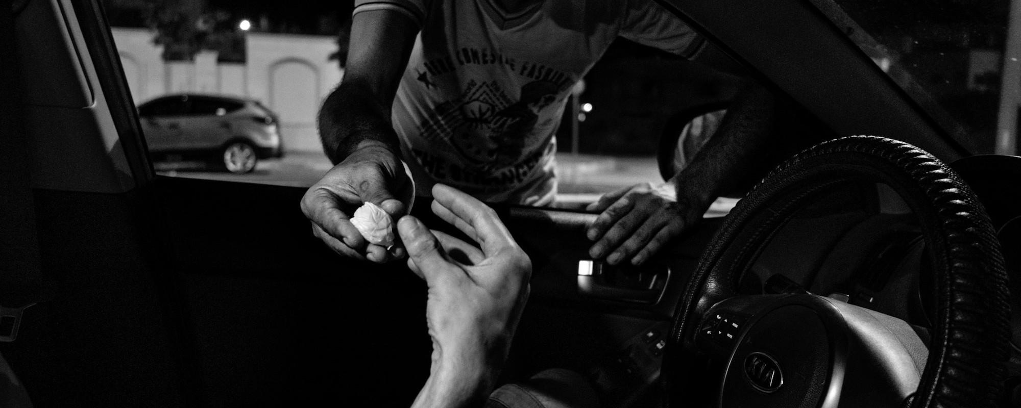 Les hommes de Gaza se défoncent aux opiacés synthétiques