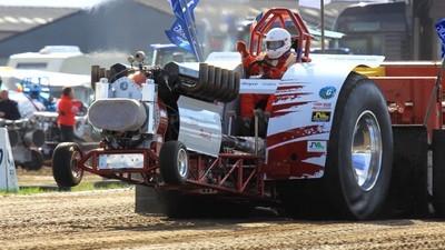 Au championnat de France de tracteur pulling