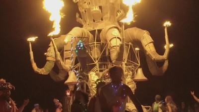 Burning Man, Os Gémeos e rosas transformadas em dados digitais