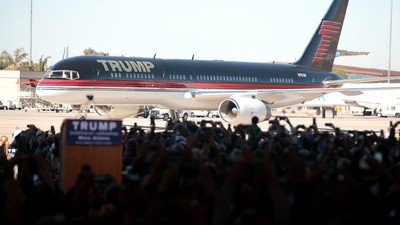 The Secret Service Paid Trump Millions of Taxpayer Dollars to Fly on His Jet