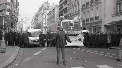 Foto's van het ontzettend onrustige voorjaar in Parijs
