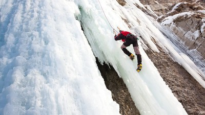 How Ice Screws Keep Ice Climbers from Falling to Their Deaths