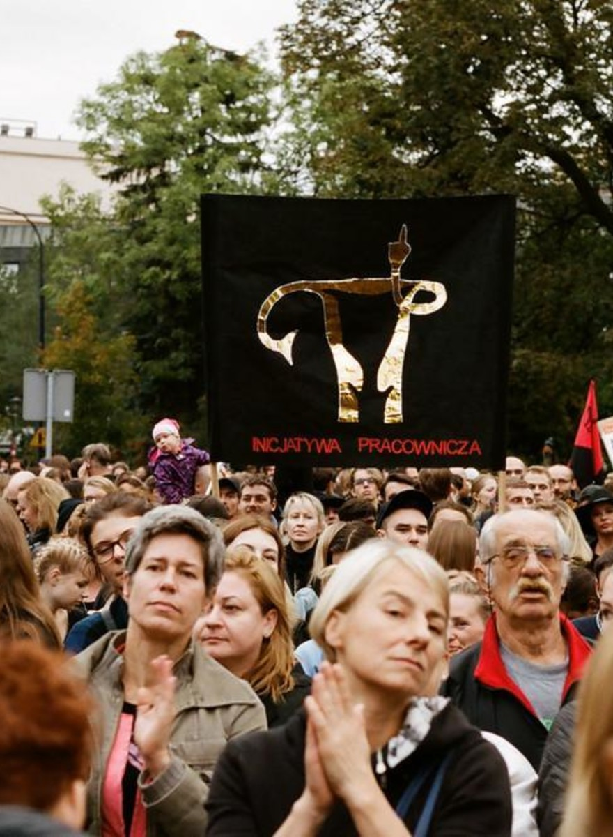 Photos of Last-Minute Protests Against a Harsh Abortion Law in Poland