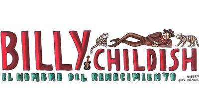 Roberta Vázquez dibuja a Billy Childish