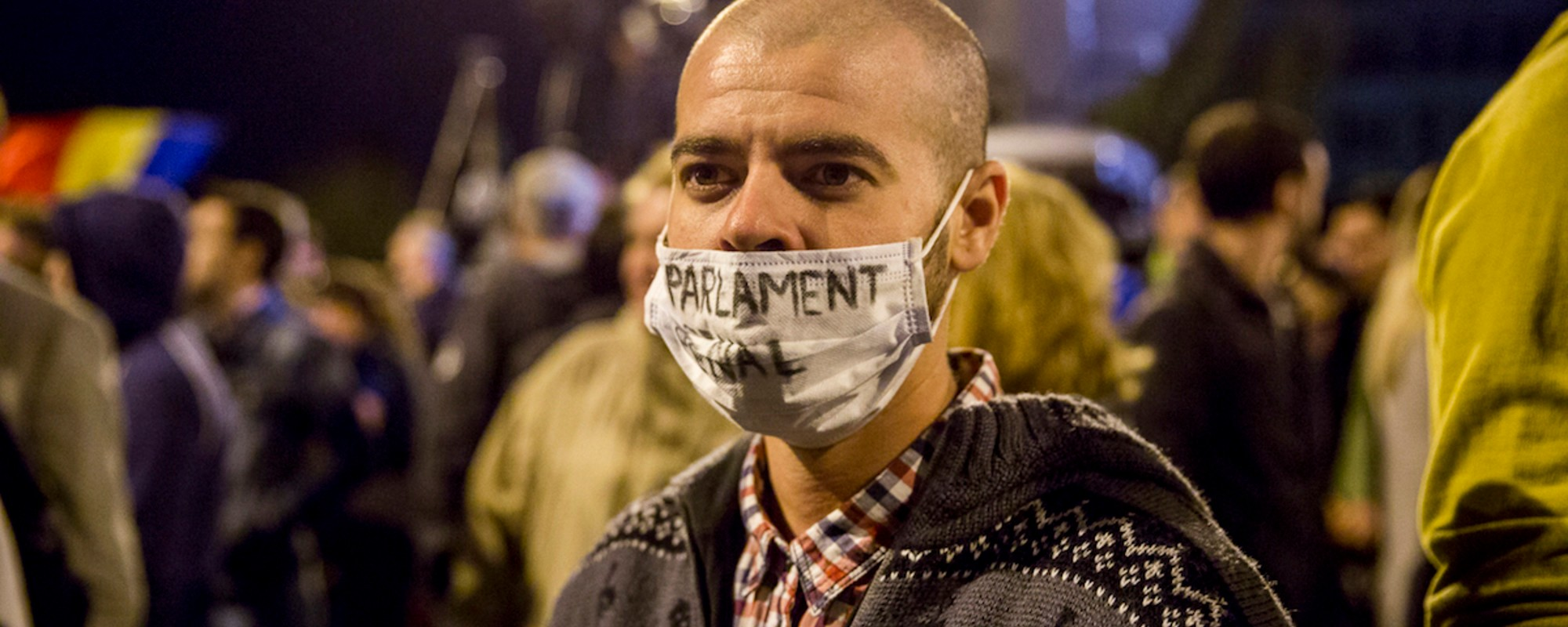 Romanians Are Protesting Government Corruption