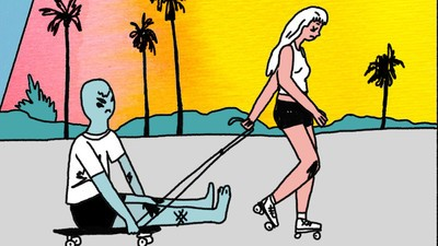 'Skaters vs. Surfers,' Today's Comic by Akvile Magicdust