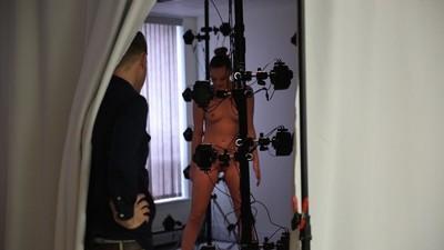 Detrás de cámaras del juego de porno en realidad virtual de Tori Black
