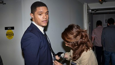A Day in the Life of Trevor Noah