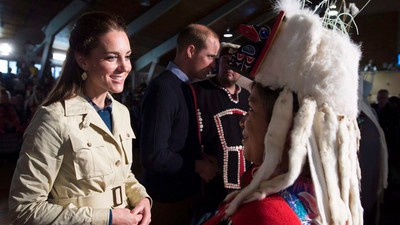 Canada's Colonial History Thrust Into the Spotlight During the Royals Visit to BC