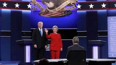 Live Coverage of the Presidential Debate Between Hillary Clinton and Donald Trump