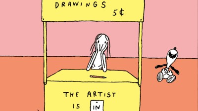 The Artist Gets Good Exposure in Today's Comic by Anna Haifisch