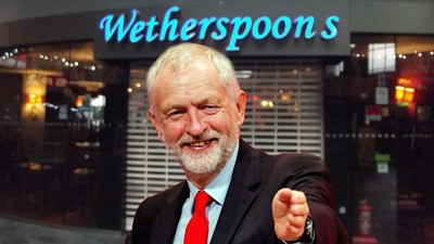 If Blair's Labour Party Was Pizza Express, This Is Why Corbyn's Needs to Be Wetherspoons