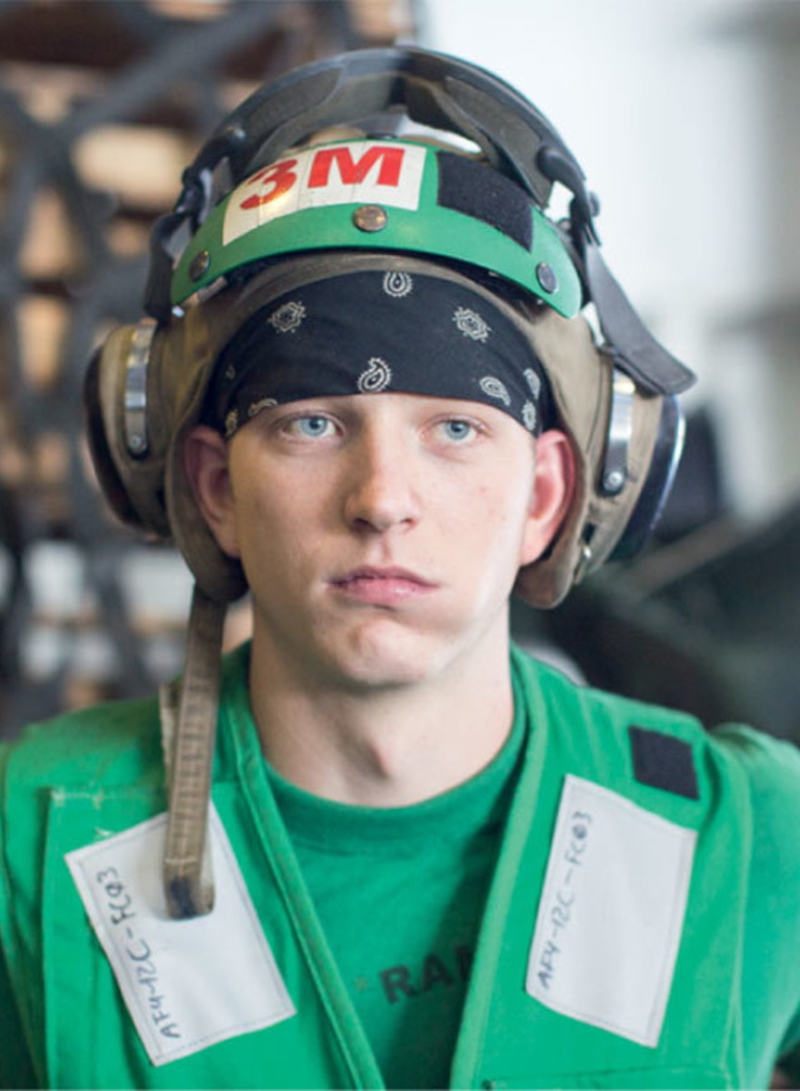 Die Truman Show: 55 Stunden auf einem Flugzeugträger der US Navy