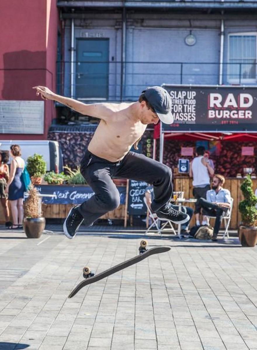 Fotos do Verão em que aprendi a andar de skate... aos 24 anos