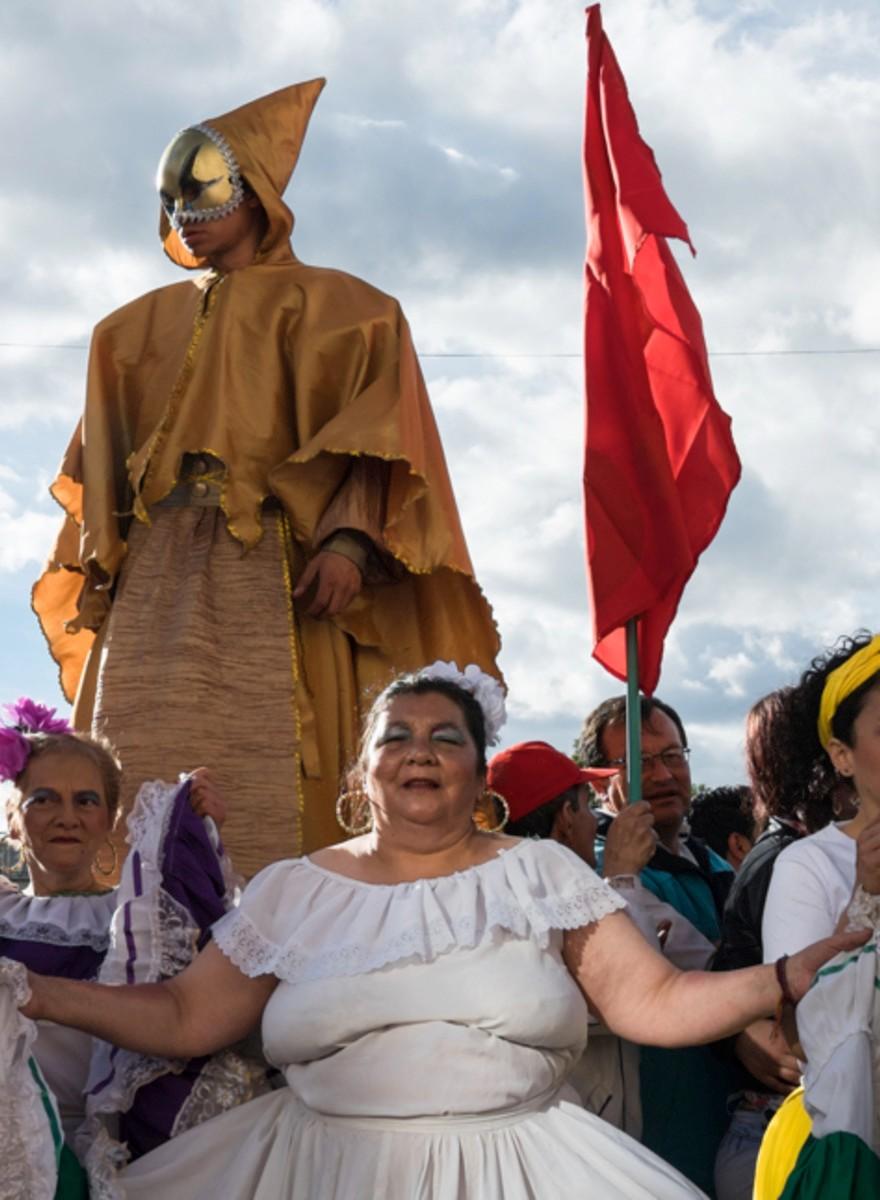 Los rostros que recibieron la firma de la paz en Colombia