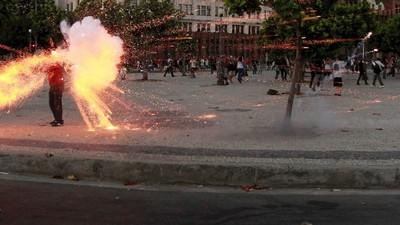 Os dois manifestantes acusados pela morte do cinegrafista Santiago Andrade vão a júri popular