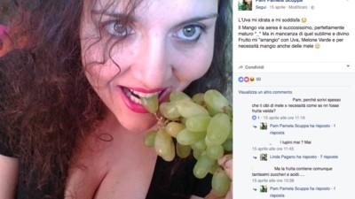 Pam Scuppa è la Gianluca Vacchi dei fruttariani