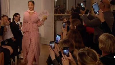 Rihanna's New Fashion Line Is Like Marie Antoinette at the Gym