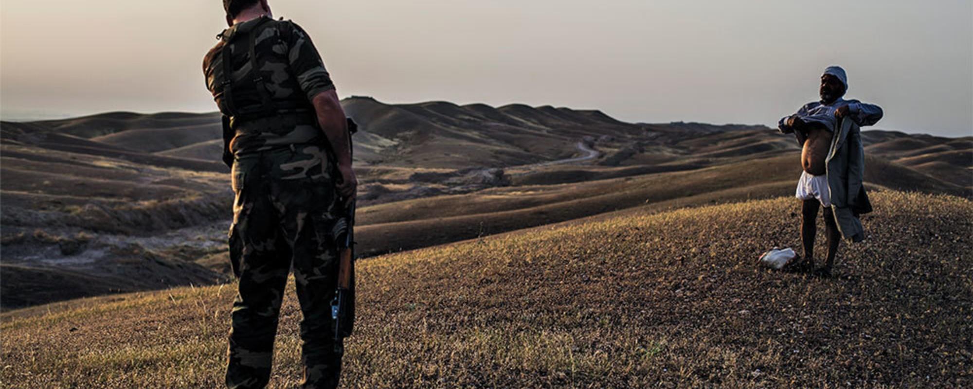Fotos von der Front im Kampf um Mossul