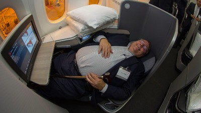 The Best Part of Flying Business Class Isn't Quite What You Think