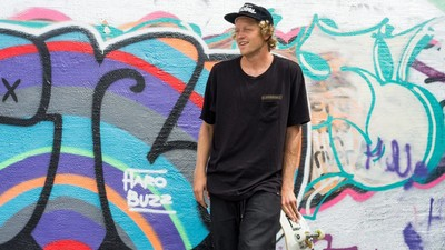 Wes Kremer on Winning Skateboarder of the Year and Blacking Out in Rome