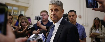 Dear Gary Johnson: Please Stop Fucking Up