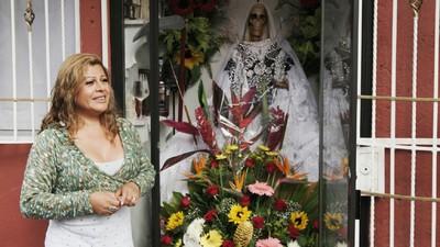 """Der Vormarsch des """"Santa Muerte""""-Kults und der Dämonenaustreibung in Mexiko"""