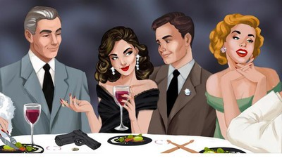 I Dined with an Arms Dealer at the World's Wildest Dinner Party