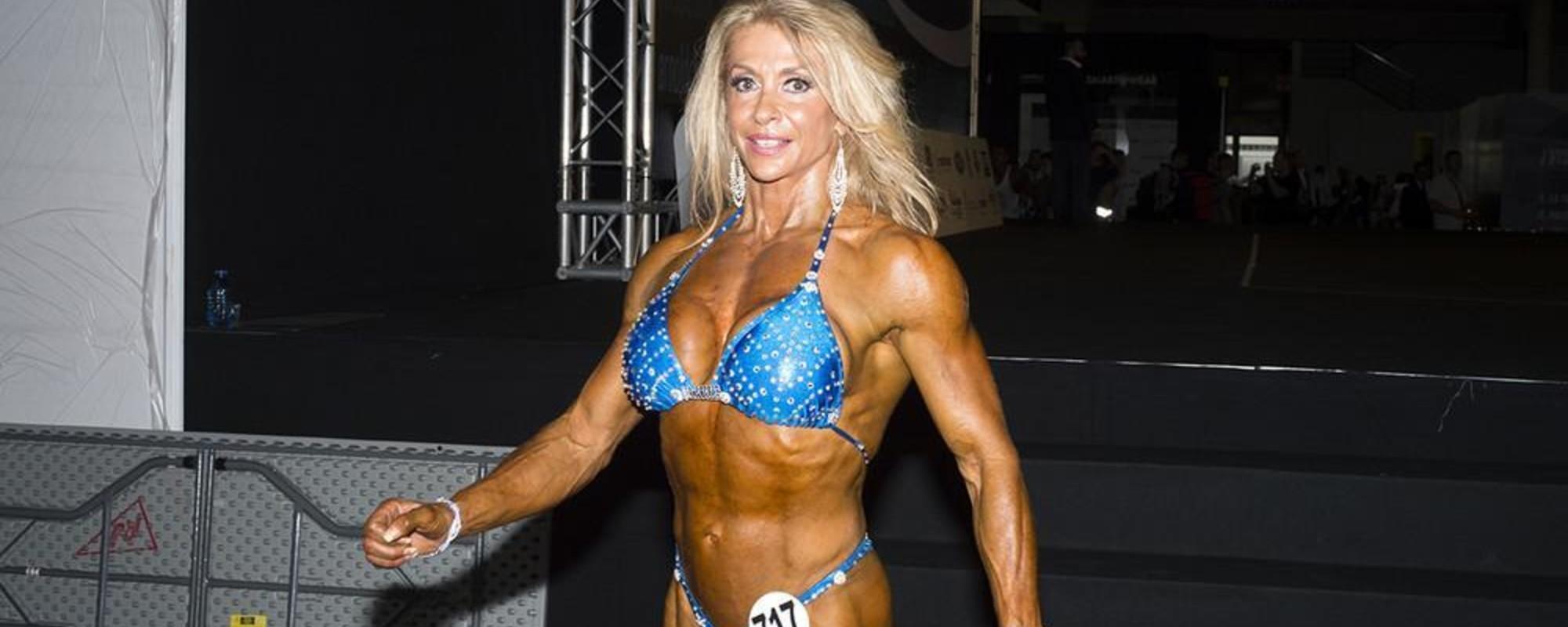 Las mujeres bodybuilders de los Arnold Games de Barcelona