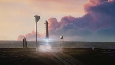 SpaceX acaba de anunciar que fabricará el mayor cohete espacial de la historia