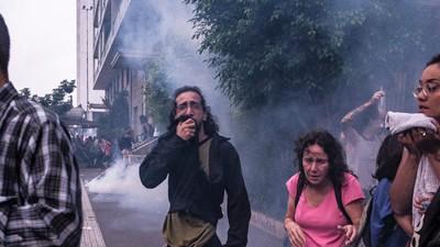 Uso de bombas pela PM de São Paulo explode em 90%