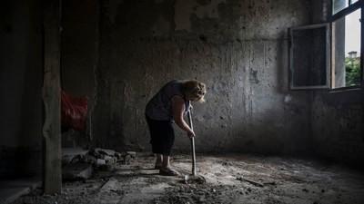 La Vie dans un ancien hôpital militaire soviétique à l'abandon