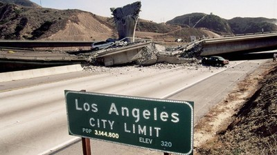 The Odds of a Major Earthquake Near LA Just Skyrocketed